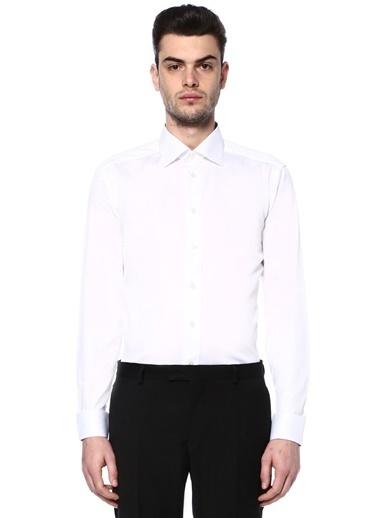 Eton Uzun Kollu Klasik Gömlek Beyaz